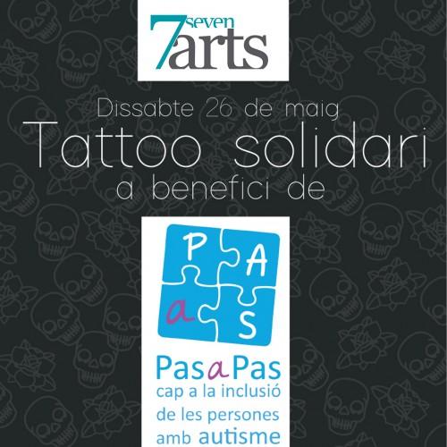 Tattoo Solidario a beneficio de Pas a pas.
