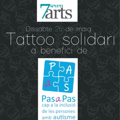 Tattoo Solidario a beneficio de Pas a pas.