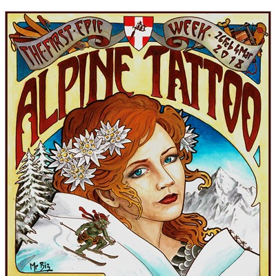 Convenció de tatuatge a Montpeller
